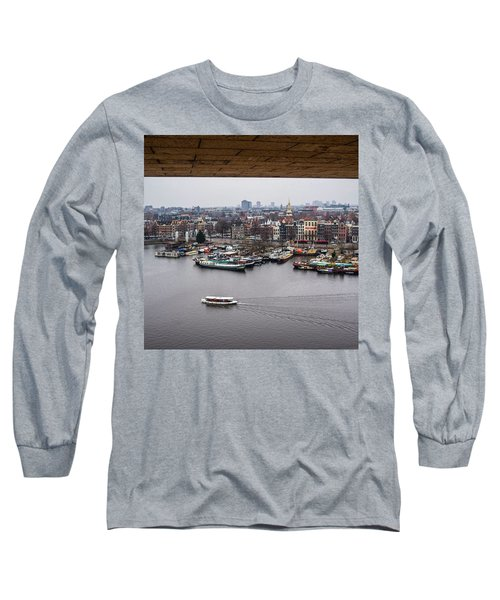 Amsterdam Skyline Long Sleeve T-Shirt