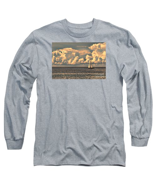 An Afternoon Sailing Long Sleeve T-Shirt by Steven Parker