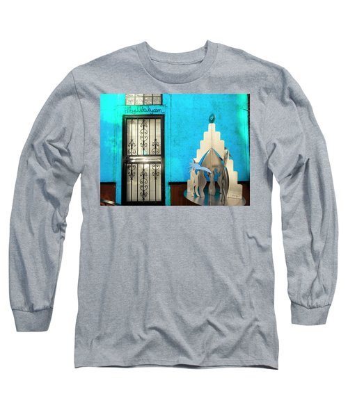 An Artsy House In Brooklyn New York  Long Sleeve T-Shirt