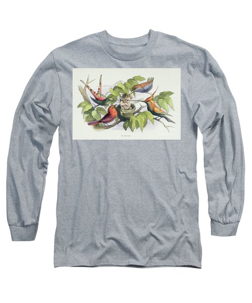 An Intruder Long Sleeve T-Shirt