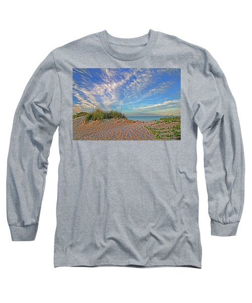 An Invitation - Florida Seascape Long Sleeve T-Shirt