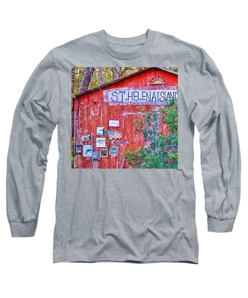 An Odd Building On St Helena Long Sleeve T-Shirt