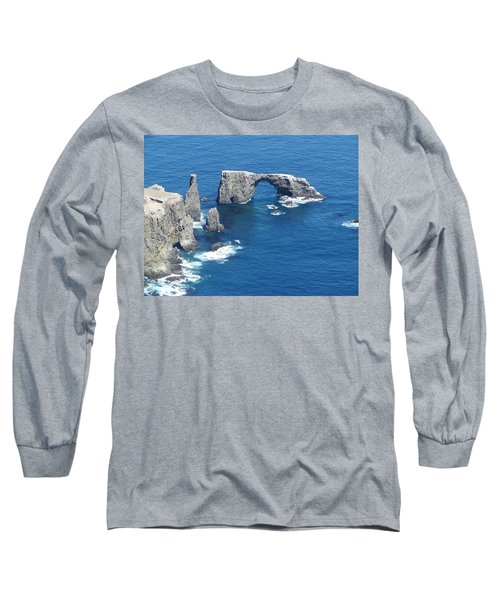Anacapa Island Arch Rock Long Sleeve T-Shirt