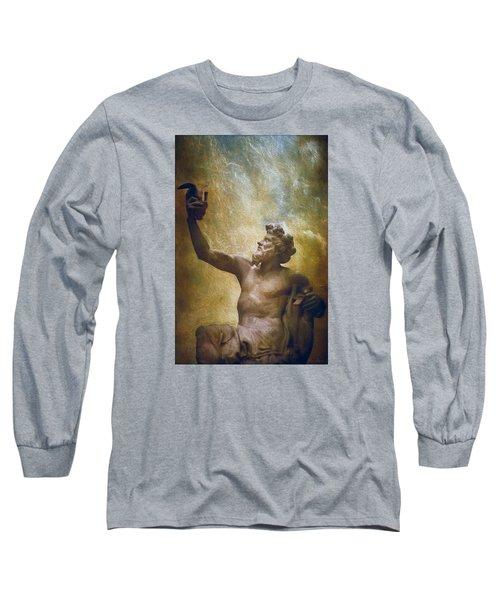 Anacreon Sculpture 1851 Long Sleeve T-Shirt