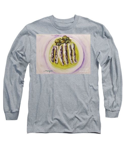 Anchovies And Olives Long Sleeve T-Shirt