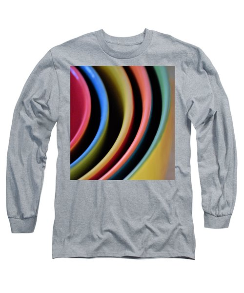 And A Dash Of Color Long Sleeve T-Shirt by John Glass