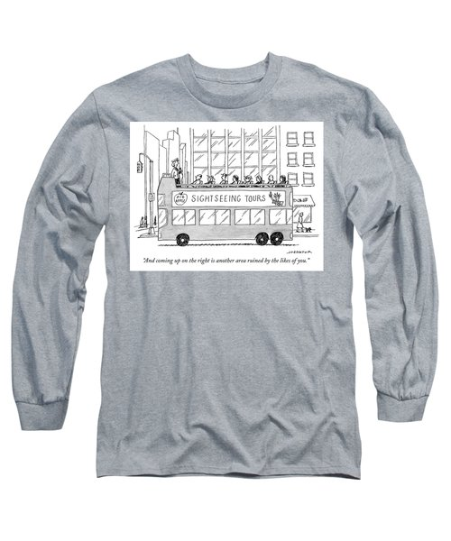 And Coming Up On The Right Long Sleeve T-Shirt