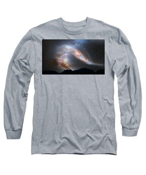 Andromeda-galaxy Long Sleeve T-Shirt