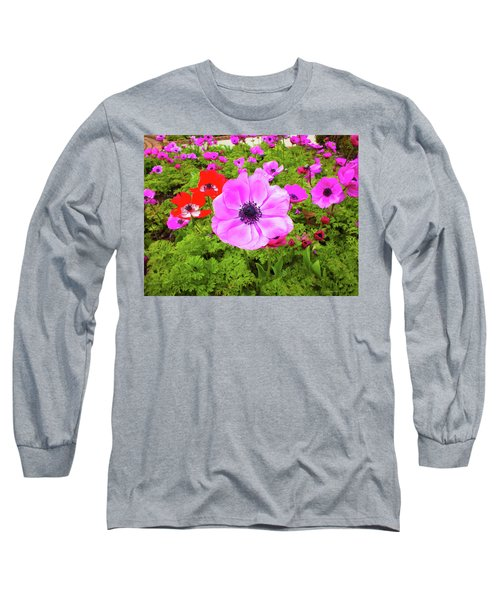 Anemone City  Long Sleeve T-Shirt