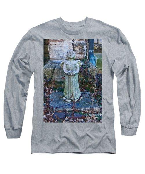 Angel Keokuk Church Long Sleeve T-Shirt