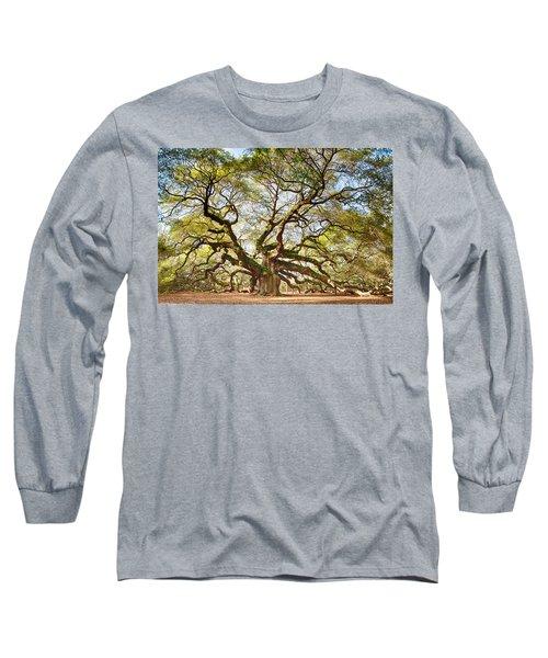 Angel Oak In Spring Long Sleeve T-Shirt