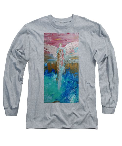 Angel Of Divine Love Long Sleeve T-Shirt