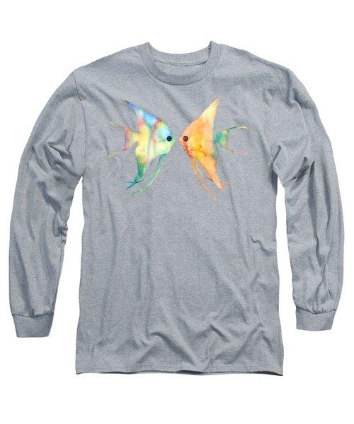Angelfish Kissing Long Sleeve T-Shirt
