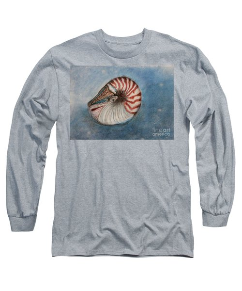 Angel's Seashell  Long Sleeve T-Shirt by Kim Nelson