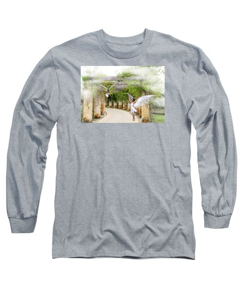 Angels Under The Arbor Long Sleeve T-Shirt