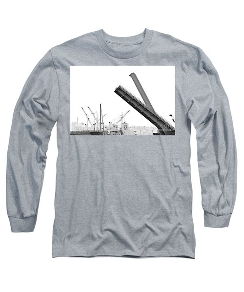 Long Sleeve T-Shirt featuring the photograph Angle Of Approach by Stephen Mitchell
