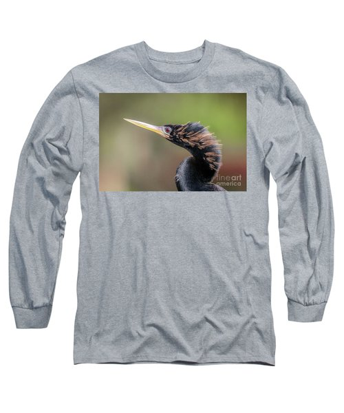 Anhinga Portrait Long Sleeve T-Shirt