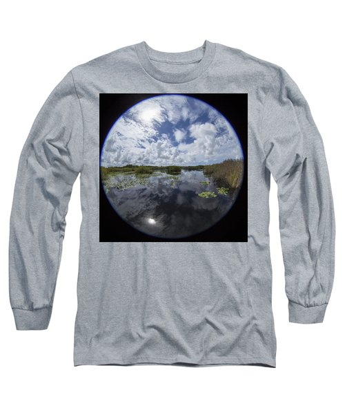 Anhinga Trail 86 Long Sleeve T-Shirt by Michael Fryd