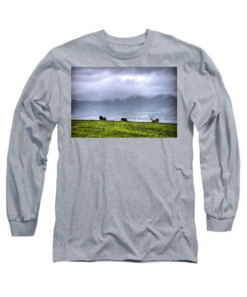Animals Livestock-03 Long Sleeve T-Shirt