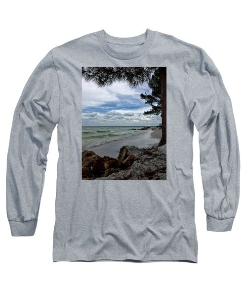 Long Sleeve T-Shirt featuring the photograph Anna Maria Island  by Jean Marie Maggi