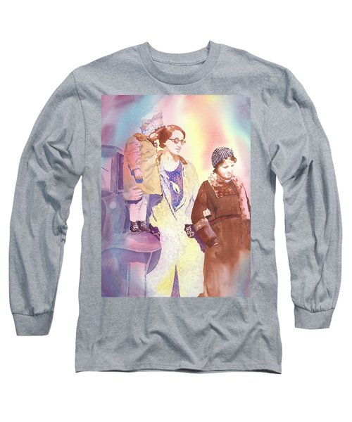 Anna Nation And Her Girls, 1932      Long Sleeve T-Shirt