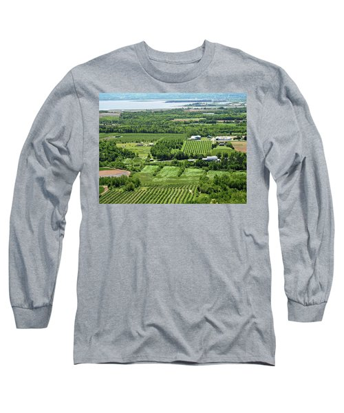 Annapolis Valley, Nova Scotia Long Sleeve T-Shirt