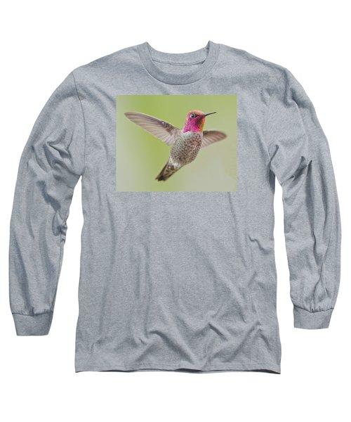 Pinkie In Flight Long Sleeve T-Shirt