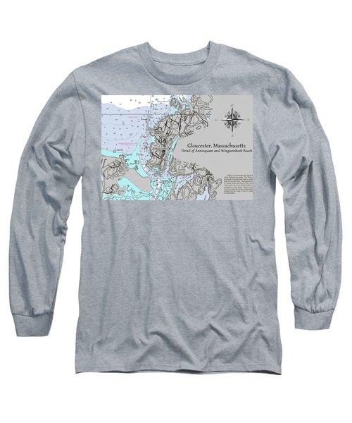Annisquam And Wingaersheek Beach Long Sleeve T-Shirt