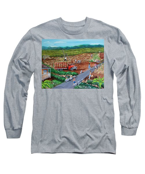 Anoranzas Long Sleeve T-Shirt by Luis F Rodriguez