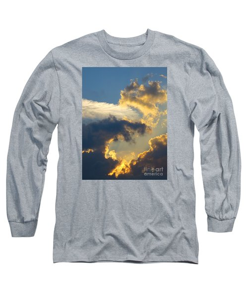 Another Beautiful Grouping Of Florida Clouds At Sunset.  Long Sleeve T-Shirt
