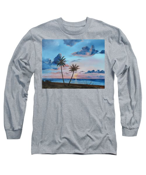 Another Paradise Sunset Long Sleeve T-Shirt by Lloyd Dobson