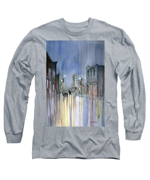 Another Rainy Night Long Sleeve T-Shirt
