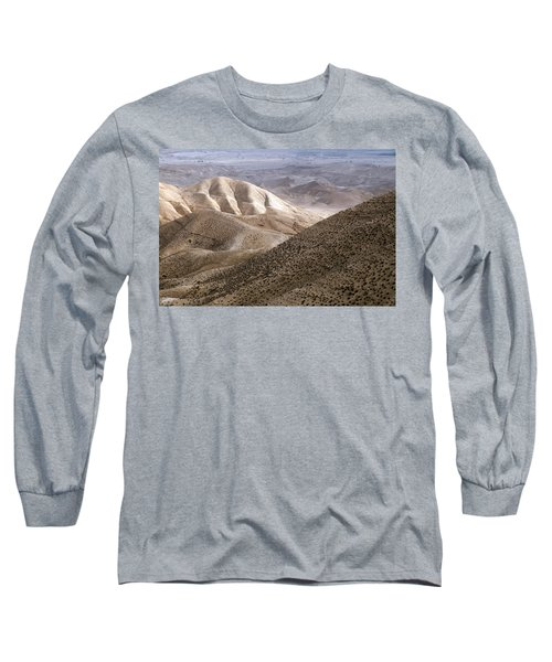 Another View From Masada Long Sleeve T-Shirt