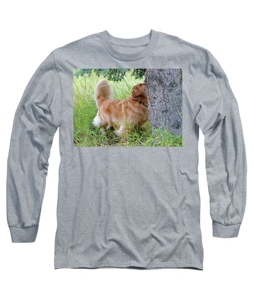 Long Sleeve T-Shirt featuring the photograph Anticipation by Rhonda McDougall