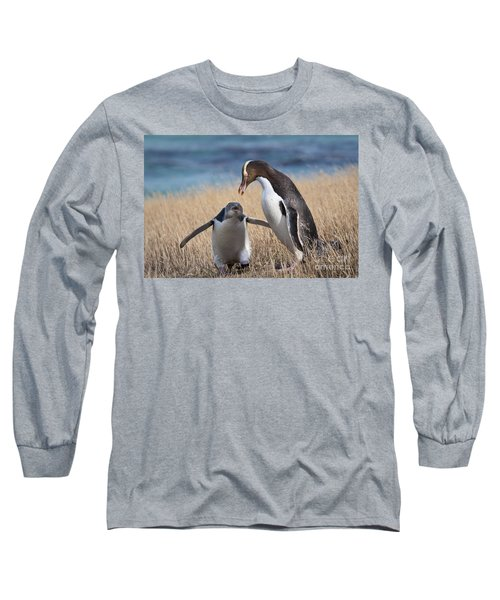 Long Sleeve T-Shirt featuring the photograph Anticipation by Werner Padarin