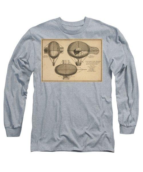 Antique Aeronautics Long Sleeve T-Shirt