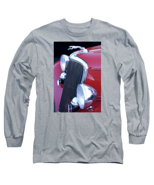 Antique Car Hood Ornament Long Sleeve T-Shirt