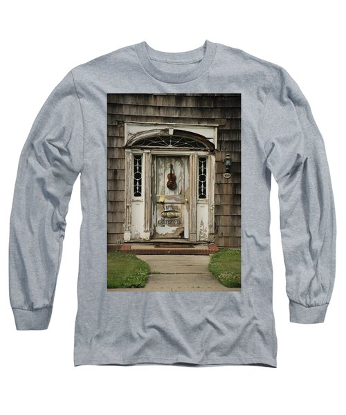 Antique Carpenter Door Long Sleeve T-Shirt