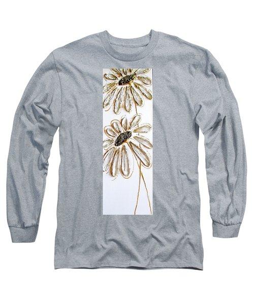 Antique Daisies Long Sleeve T-Shirt