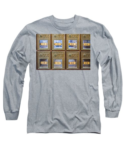 Antique Mailbox Color Long Sleeve T-Shirt