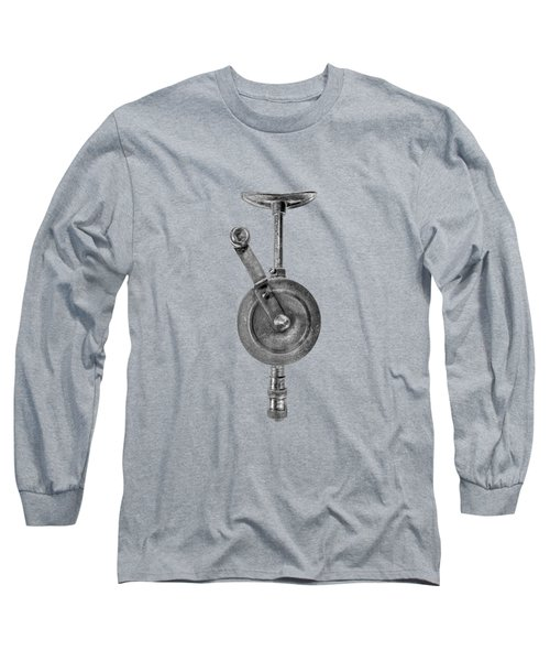 Antique Shoulder Drill Front Bw Long Sleeve T-Shirt