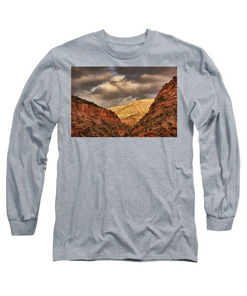 Antique Train Ride Txt Long Sleeve T-Shirt