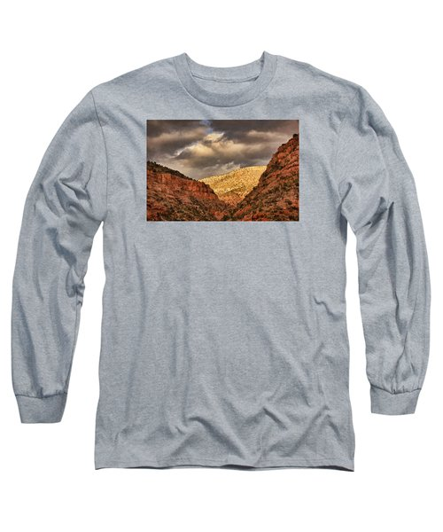 Antique Train Ride Txt Long Sleeve T-Shirt