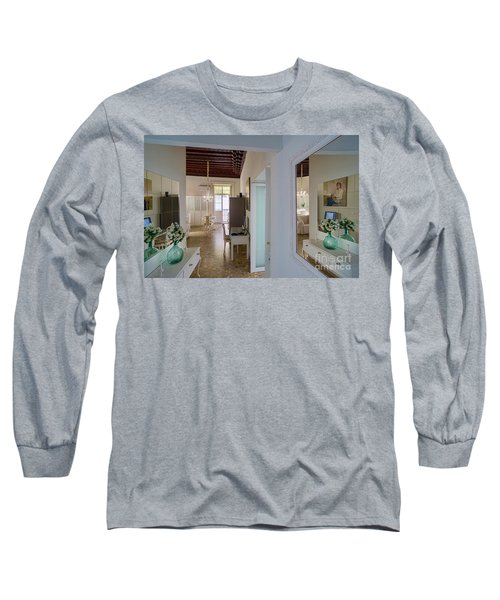 Long Sleeve T-Shirt featuring the photograph Apartment In The Heart Of Cadiz Spain by Pablo Avanzini