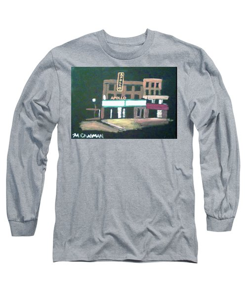 Apollo Theater New York City Long Sleeve T-Shirt