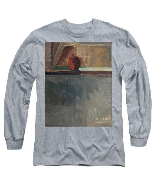 Apple On A Sill Long Sleeve T-Shirt
