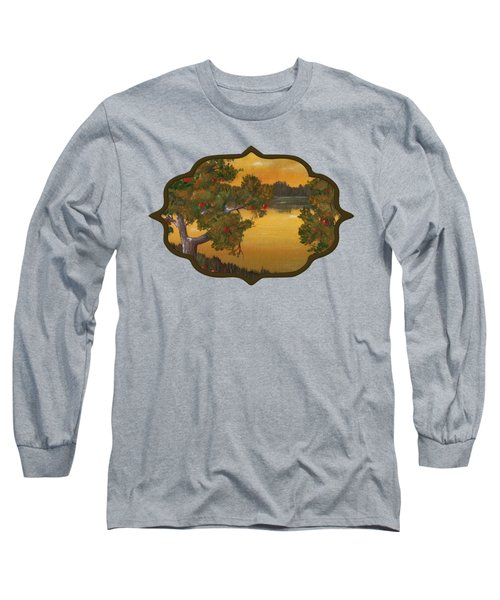 Apple Sunset Long Sleeve T-Shirt