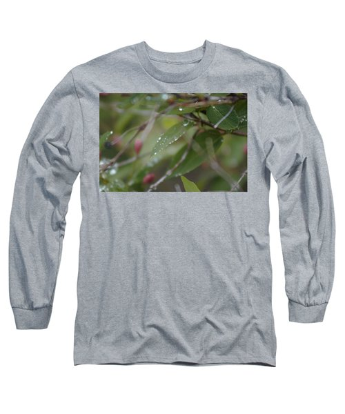 April Showers 1 Long Sleeve T-Shirt by Antonio Romero