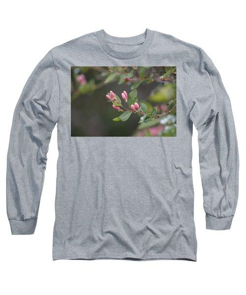 April Showers 3 Long Sleeve T-Shirt by Antonio Romero