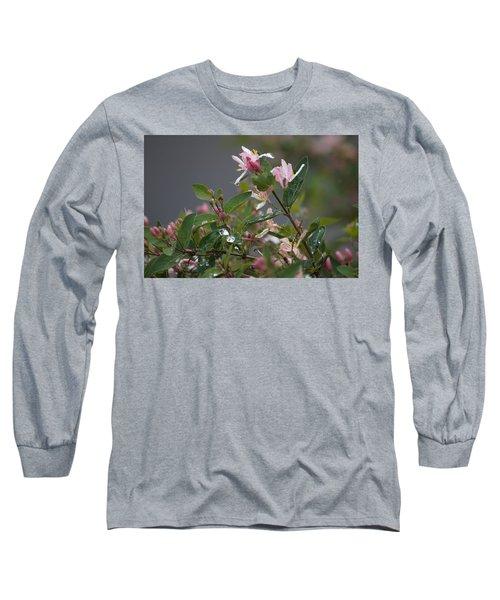 April Showers 7 Long Sleeve T-Shirt by Antonio Romero
